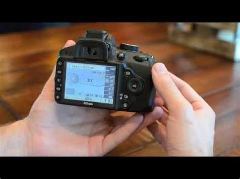 tutorial video nikon d3200 shutter priority video tutorial for the nikon d3200 learn