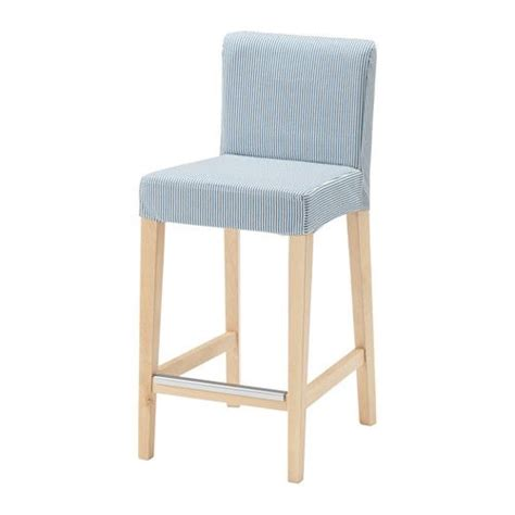 Ikea Bar Stool With Backrest by Ikea Henriksdal Bar Stool With Backrest Cover The