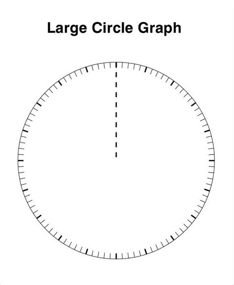 free printable circle graphs 11 circle template free premium templates