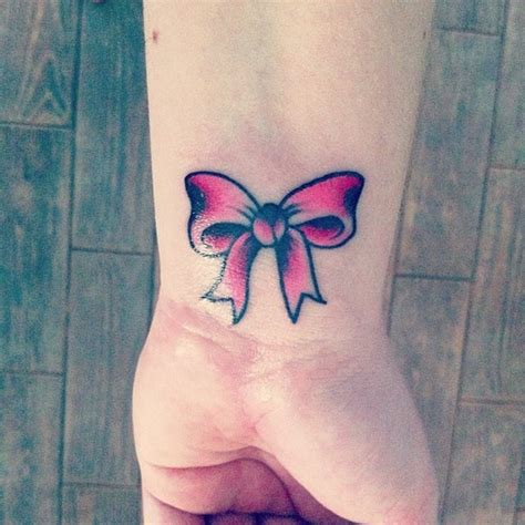 pink bow tattoo designs 90 bow tattoos that are knot to be missed