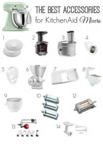 best accessories for kitchenaid mixers the