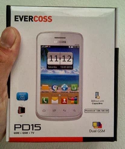 Layar Sentuh Tablet Evercoss spesifikasi dan harga evercoss pd15 ponsel dengan layar sentuh responsif berharga 200 ribuan