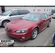 2004 Pontiac Grand Prix GT Sedan Sport Red Metallic / Dark