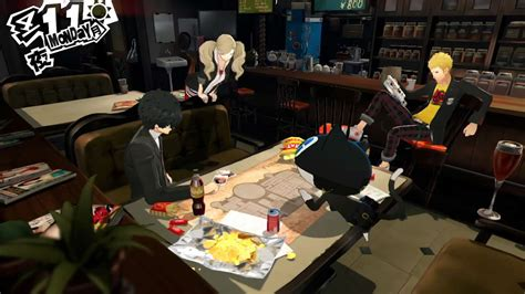 One Story Open Floor Plans by Persona 5 Debut Gameplay Trailer Gematsu