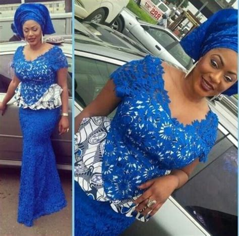 latest nigerian styles with cod lace cord lace aso ebi styles hairstylegalleries com