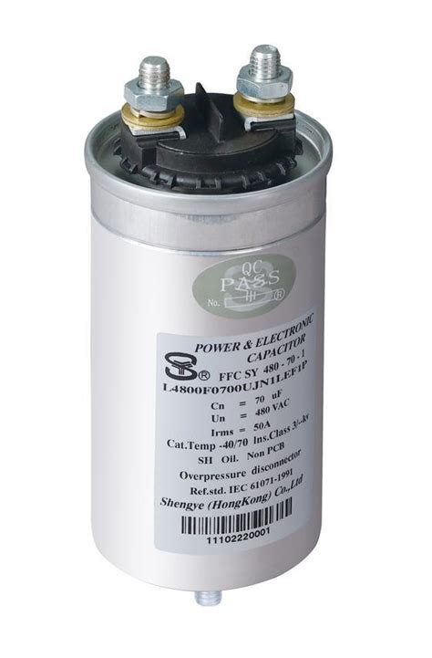 single capacitor heavy duty ac filter capacitor single phase china power capacitor capacitor