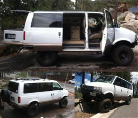 4x4 v8 astro van camper w/ westfalia kitchen $15,000 in