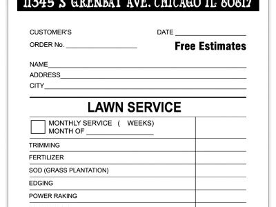 template for lawn care receipt landscaping invoice sle invoices receipts chicagoink