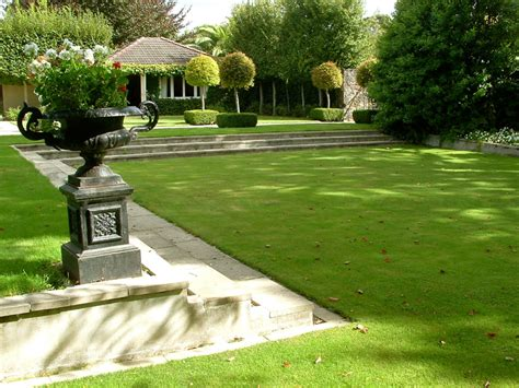 Landscape Horticulture Definition A Lovely Sunken Lawn Area With Wide Shallow Steps Can