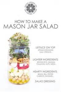 mason jar salads healthy grocery