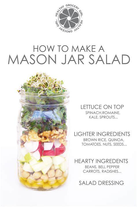 how to make a mason jar l mason jar salads healthy grocery