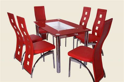Red Kitchen Furniture red kitchen table and chairs decor ideasdecor ideas