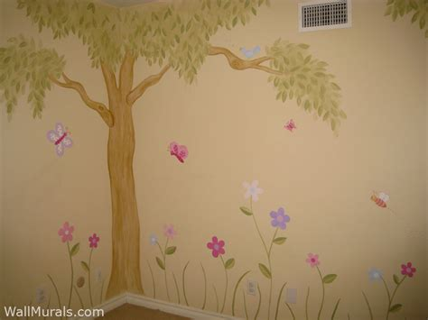 exceptional Teen Room Wall Decor #2: daisy_tree_mural.jpg