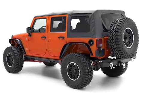 2013 Jeep Wrangler Unlimited Soft Top Kit by All Things Jeep Jeep Wrangler Unlimited Jku 4 Door 2007