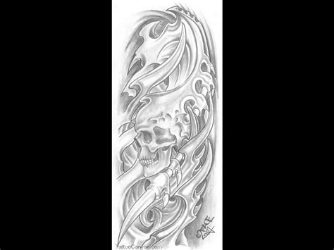 biomechanical skull tattoo design tattoos and designs page 104