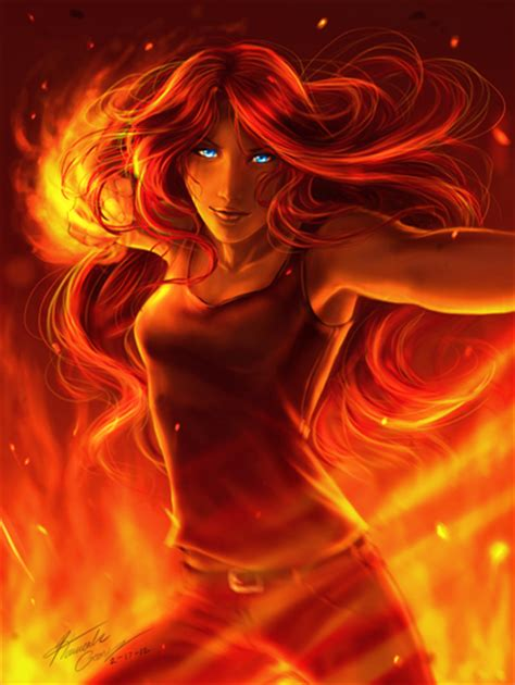 wallpaper girl on fire young justice images girl on fire hd wallpaper and