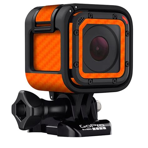 Gopro Session 5 carbon fiber wrap skins for gopro 5 session