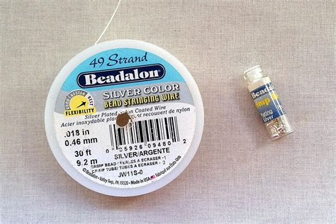 how to use beading wire which size and strength of beading wire should i use
