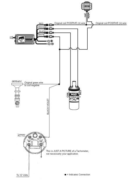 pertronix ignitor iii wiring diagram ford mustang msd