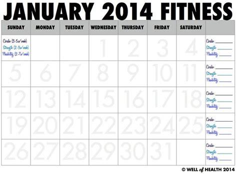 printable calendar exercise printable workout calendar 2014 calendar template 2016
