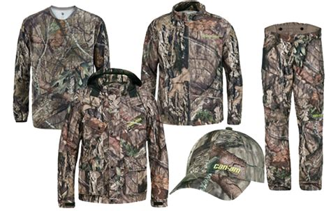 mossy oak clothing for can am apparel and accessories in mossy oak
