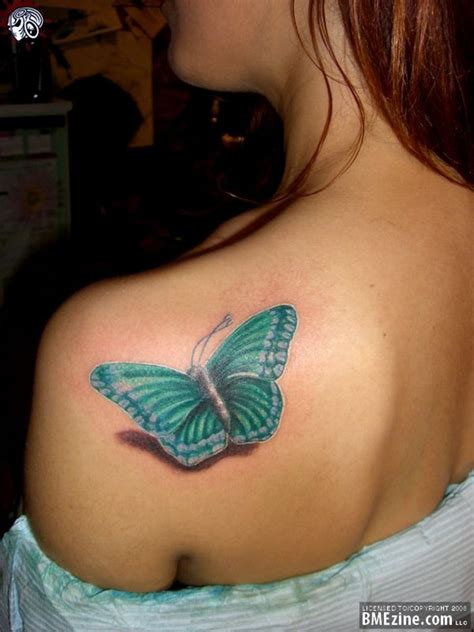 butterfly tattoo on girl s shoulder butterfly tattoos for women tattoos for women