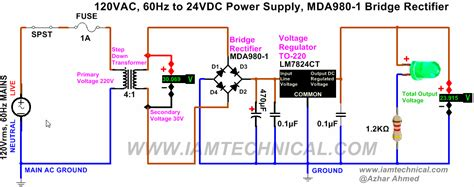 wiring 24v to ac dc wiring get free image about wiring