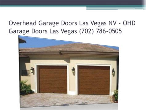Overhead Door Las Vegas Las Vegas Garage Door Repair