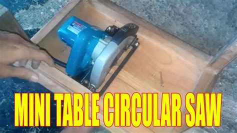 Gergaji Mesin Chainsaw Mini cara membuat meja mini gergaji belah mini table circular saw