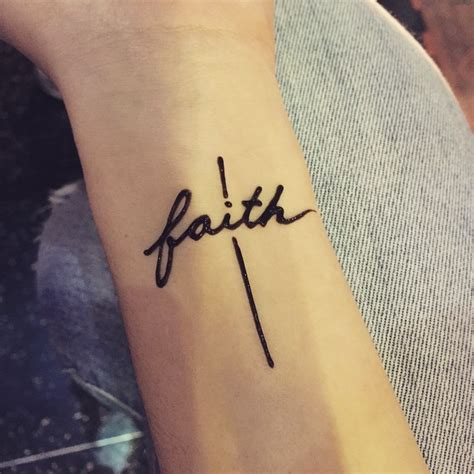 faith hope love tattoo on wrist 30 amazing faith designs meanings 2018
