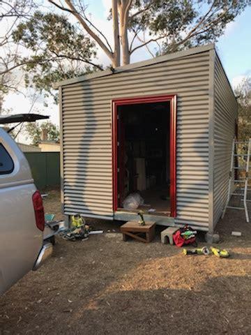 diy storage pod    rapidly completed  toongabbie