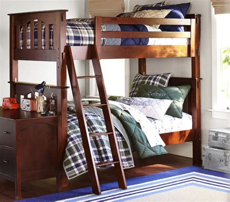 bunk beds pottery barn kendall twin over twin bunk bed pottery barn kids