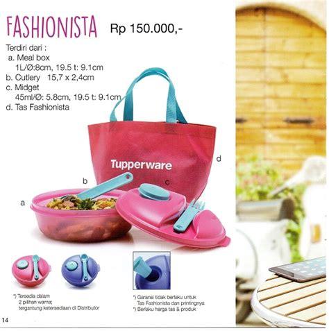 Tupperware Fashionista Tas Dan Tempat Makan fashionista tupperware indonesia promo terbaru tupperware