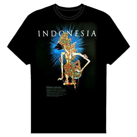 kaos indonesia aku jawa kaos gambar wayang kresna pusaka dunia
