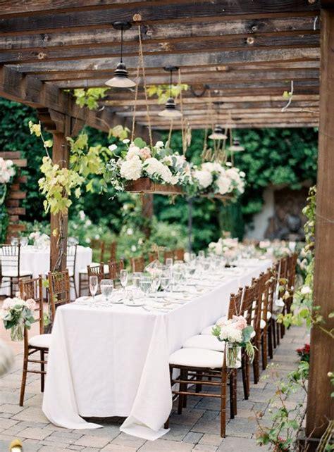 outdoor wedding table centerpiece ideas 35 delicate summer garden wedding ideas weddingomania