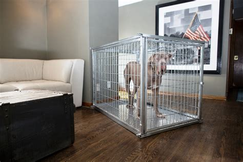 Homemade Dog Beds Heavy Duty Dog Crate Collapsible Indestructible Steel