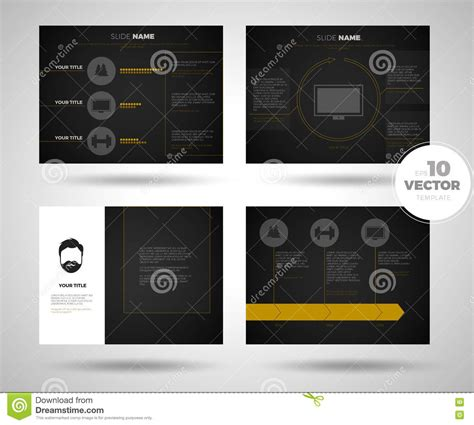 set powerpoint template business presentation template set powerpoint template