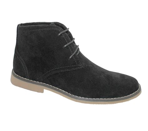classic shoes mens suede desert boots winter ankle high top classic