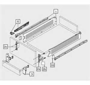 frontbefestigung schublade beschlaege abdeckkappen standard frontbefestigung