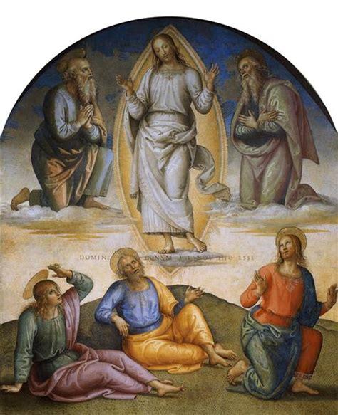 church of the virgin transfiguration of jesus transfiguration 1496 1500 pietro perugino wikiart org