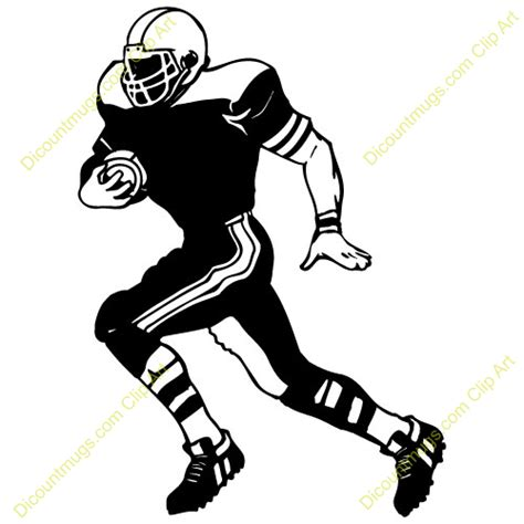 football player clip football player running clip pictures to pin on