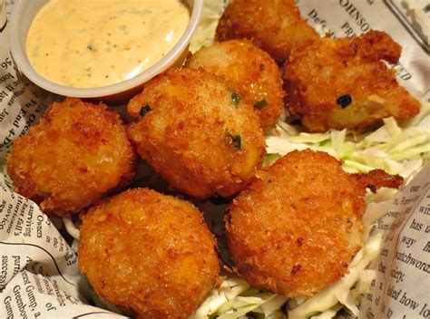 shrimp hush puppies bubba gump shrimp co seafood hush pups recipe ingredients 189 cup mayonnaise 2