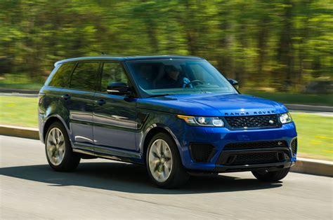 range rover front 2015 land rover range rover sport svr review automobile