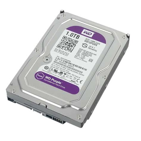 Harddisk Wd Purple 1tb buy western digital 1tb purple surveillance sata drive wd10purx best price in