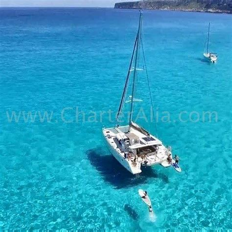 journee catamaran ibiza location bateau ibiza catamaran formentera location