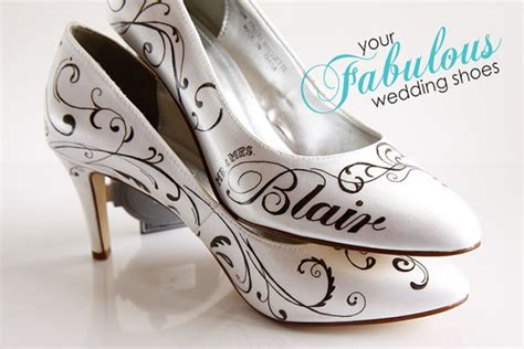 Wedding Shoes Custom by Damask Wedding Shoes Scroll Painted Wedding Shoe