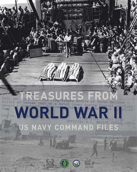 World War 2 Records Treasures From World War Ii Us Navy Command Files National Archives