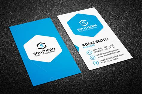 Hotel Business Card Template Free by Creative Business Card Bundle 50 In 1 Graphic