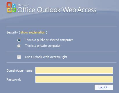Office 365 Outlook Web Access Url Publishing Exchange 2010 Outlook Web App With Isa Server 2006