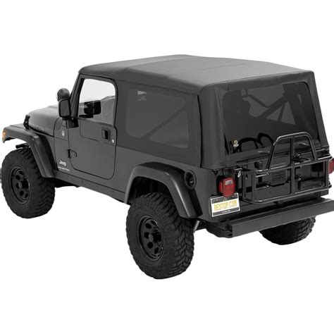 jc jeep wrangler parts bestop soft top new black jeep wrangler 2004 2006 54721 35